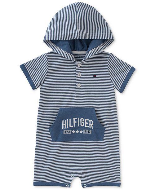 6133e925e05f Tommy Hilfiger Striped Hooded Romper