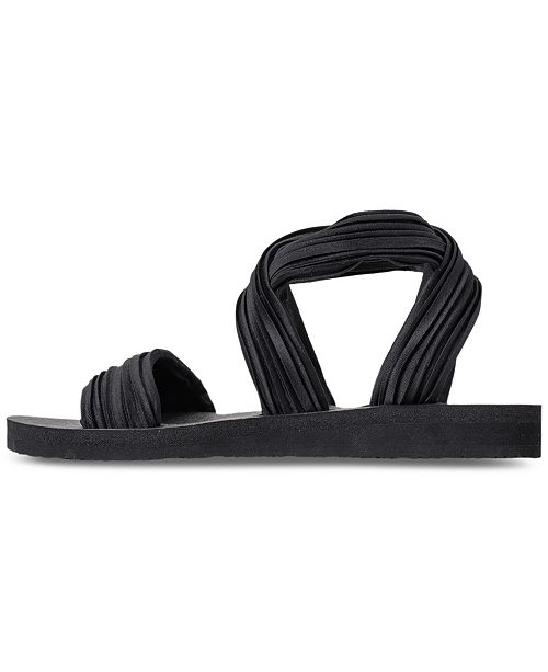8c9c9b6723dc ... Skechers Women s Cali Meditation - Still Sky Sandals from Finish Line  ...