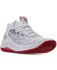 adidas Men's Dame 4 Basketball Sneakers from Finish Line