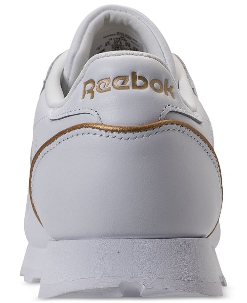 fb65418ccf3 Reebok Women s Classic Leather HW Casual Sneakers from Finish Line ...