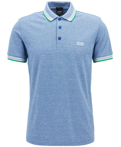 BOSS Men's Regular/Classic-Fit Cotton Polo