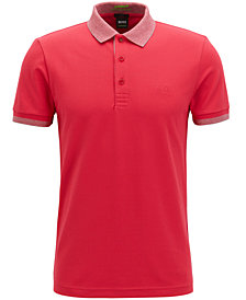 BOSS Men's Slim-Fit Stretch Polo