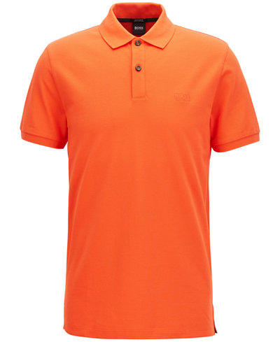 BOSS Men's Regular/Classic-Fit Cotton Polo