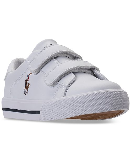 96c1487bfd20 ... Polo Ralph Lauren Toddler Boys  Easten II EZ Casual Sneakers from  Finish ...