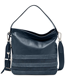 Fossil Maya Perforated Hobo