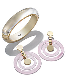DKNY Gold-Tone Jewelry Separates