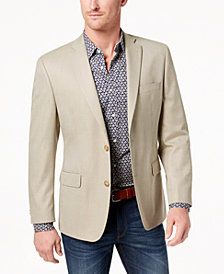 CLOSEOUT! Michael Kors Men's Classic-Fit Mini-Houndstooth Sport Coat