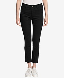 Polished Mid-Rise Pants