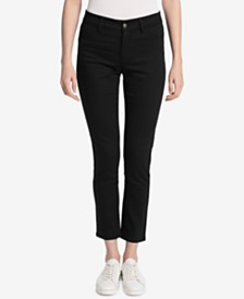 Calvin Klein Polished Mid-Rise Pants