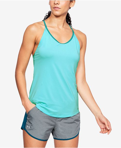 lowest price 49f0f 6c905 ... Under Armour Speed Stride Cross-Back Tank Top ...