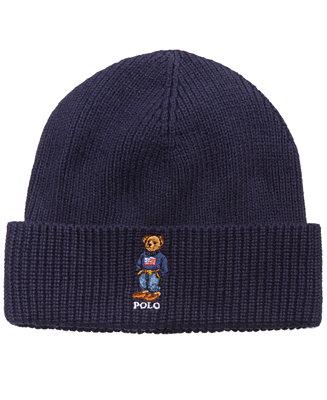 Polo Ralph Lauren Men s Polo Bear Cuffed Hat - Hats c667c530393