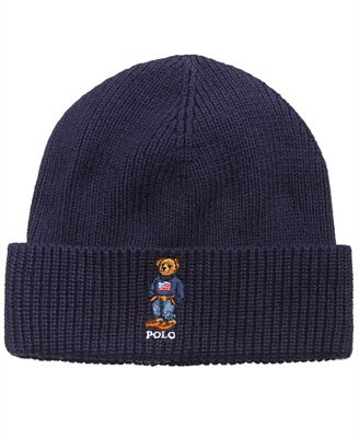 Polo Ralph Lauren Mens Polo Bear Cuffed Hat