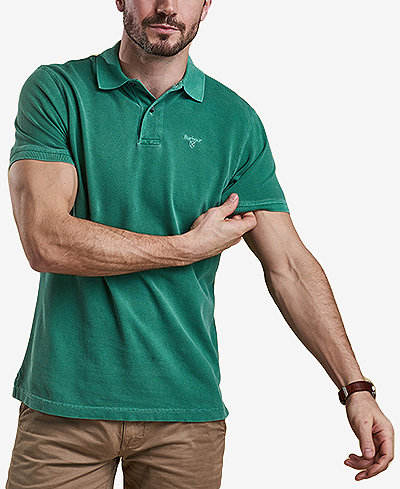 Barbour Men's Washed Sports Polo