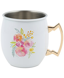 CLOSEOUT! Thirstystone Floral Moscow Mule Mug