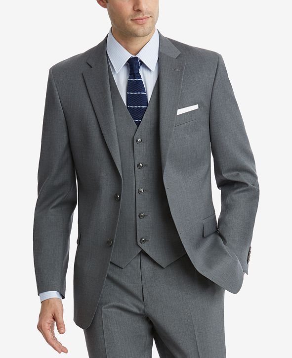 Tommy Hilfiger Men's Modern-Fit TH Flex Stretch Suit Separates