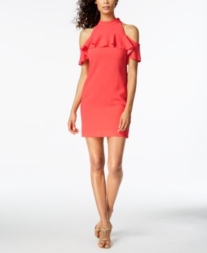 Trina Turk Laelia Cold-Shoulder Dress 5836810