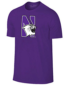 New Agenda Men's Northwestern Wildcats Big Logo T-Shirt