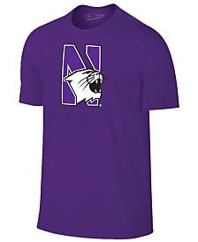New Agenda Men's Northwestern Wildcats Big Logo T-Shirt
