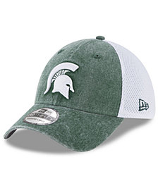 New Era Michigan State Spartans Washed Neo 39THIRTY Cap