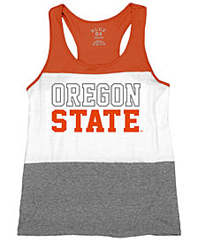 Blue 84 Women's Oregon State Beavers Racerback Panel Tank Top