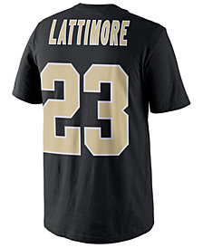 Nike Men's Marshon Lattimore New Orleans Saints Pride Name and Number T-Shirt