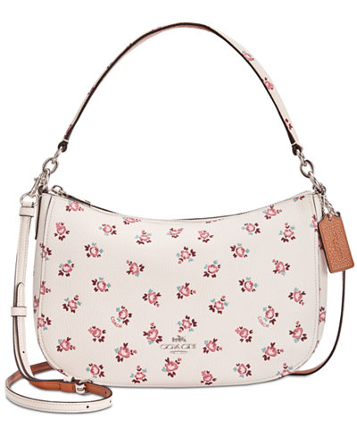 COACH Chelsea Crossbody with Floral Bloom