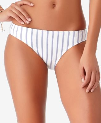 STUDIO Beach Bunny Striped Bikini Bottoms