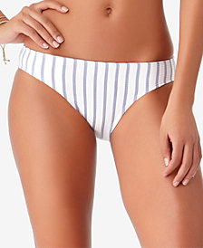 STUDIO Anne Cole Beach Bunny Striped Bikini Bottoms