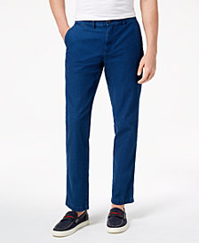 "Tommy Hilfiger Men's Townshend 32"" Indigo Pants, Created for Macy's"