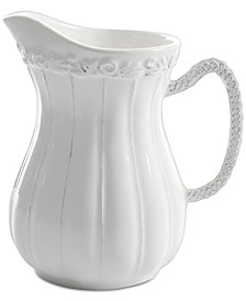 Laurie Gates Madeira White Pitcher