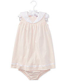Polo Ralph Lauren Cotton Dress, Baby Girls