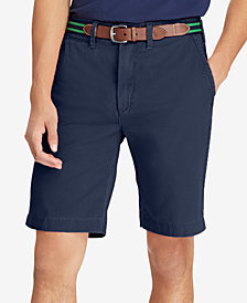 "Polo Ralph Lauren Men's Big & Tall Classic-Fit Chino 10"" Shorts"