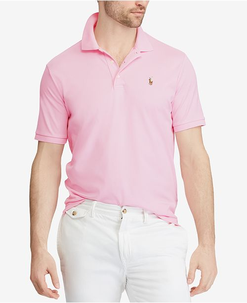 eaad1973f Polo Ralph Lauren Men s Custom Slim Fit Soft-Touch Polo   Reviews ...