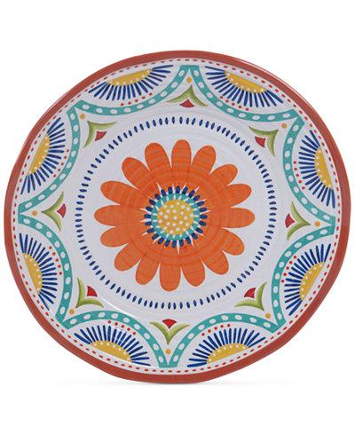 Certified International Vera Cruz Melamine Round Platter