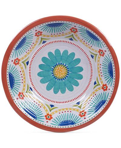Certified International Vera Cruz Melamine Large Serving Bowl