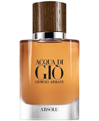 Men's Acqua Di Giò Absolu Eau De Parfum Spray, 1.35 Oz. by Giorgio Armani