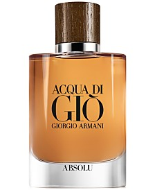 Giorgio Armani Men's Acqua di Giò Absolu Eau de Parfum Spray, 2.5-oz.