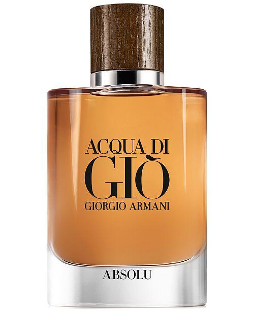 4ee0cbb69261 Giorgio Armani Men s Acqua di Giò Absolu Eau de Parfum Spray