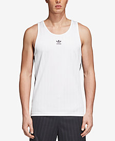 adidas Men's Originals Adicolor Jacquard Tank Top