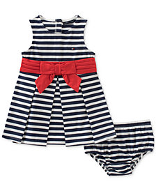 Tommy Hilfiger Striped Dress, Baby Girls
