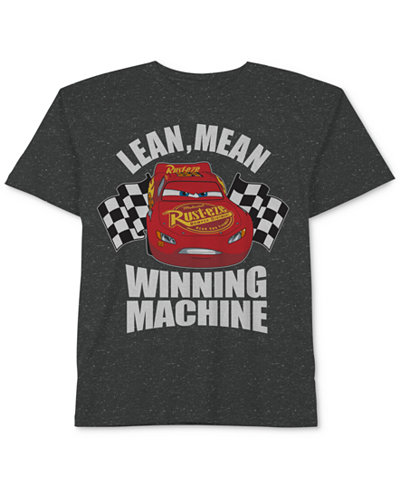 Cars Graphic-Print T-Shirt, Little Boys