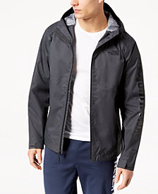 The North Face Men's Millerton Hooded Rain Jacket with Sleeve Logo