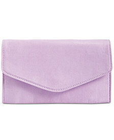 Steve Madden Global Faux-Suede Clutch