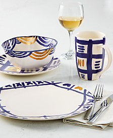 Lenox-Wainwright Pompeii Blu Dinnerware Collection, Created for Macy's