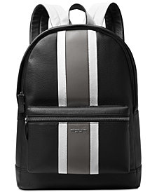 Michael Kors Men's Colorblocked Leather Backpack