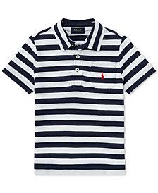 Ralph Lauren Striped Cotton Polo, Little Boys