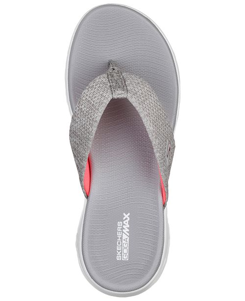 46da71c5 ... Skechers Women's On The Go 600 - Preferred Athletic Thong Flip Flop  Sandals from Finish ...