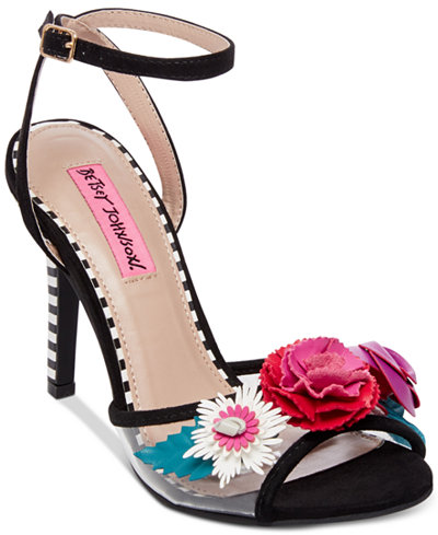 Betsey Johnson Jamie Dress Sandals