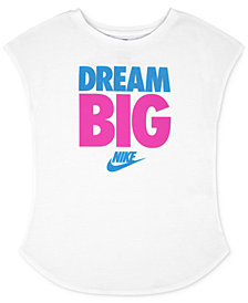 Nike Dream Big-Graphic Cotton T-Shirt, Little Girls