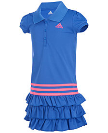 adidas Ruffled Polo Dress, Little Girls